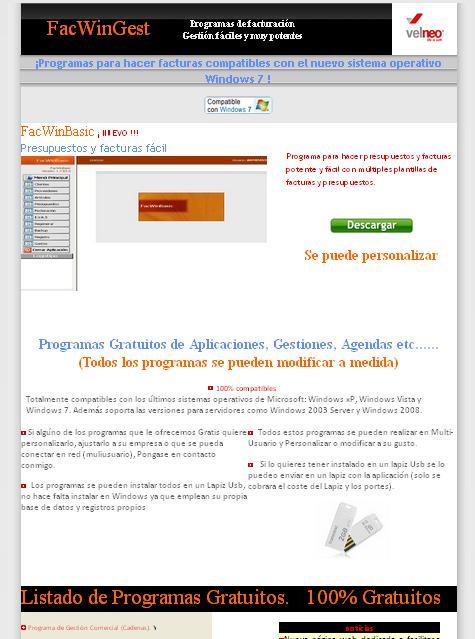 Pagina dedicada a realizar programas a Medida muy baratos.